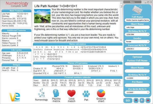 VeBest Numerology screenshot