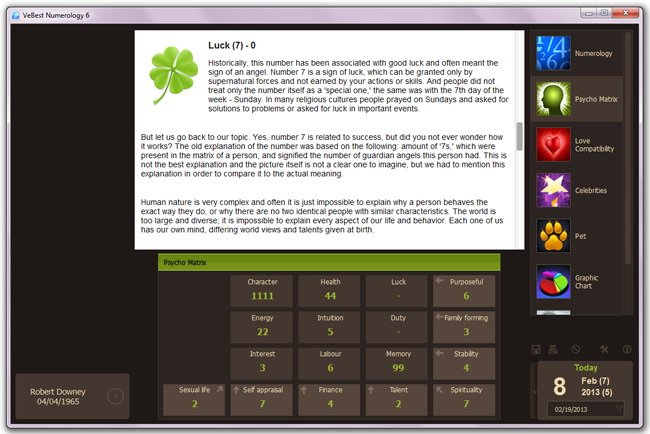 Ve Best Numerology Software
